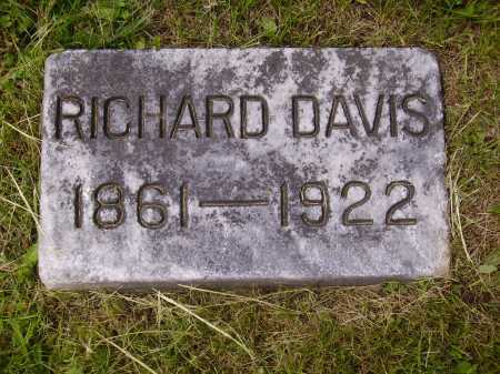 DAVIS, RICHARD - Stark County, Ohio | RICHARD DAVIS - Ohio Gravestone Photos