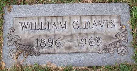DAVIS, WILLIAM C. - Stark County, Ohio | WILLIAM C. DAVIS - Ohio Gravestone Photos
