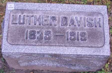 DAVISH, LUTHER - Stark County, Ohio | LUTHER DAVISH - Ohio Gravestone Photos