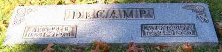 DECAMP, ALBERT B. - Stark County, Ohio | ALBERT B. DECAMP - Ohio Gravestone Photos