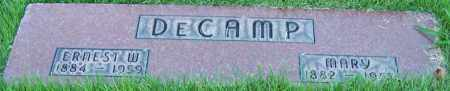 DECAMP, MARY - Stark County, Ohio | MARY DECAMP - Ohio Gravestone Photos