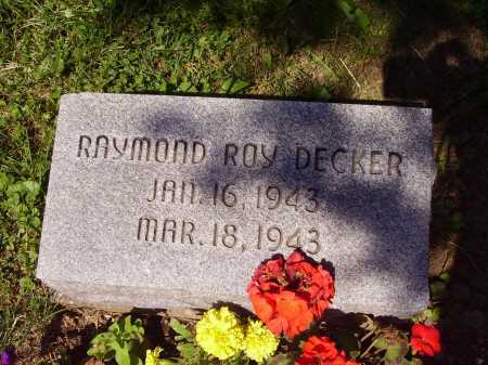 DECKER, RAYMOND ROY - Stark County, Ohio | RAYMOND ROY DECKER - Ohio Gravestone Photos