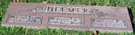 DEEMER, ANNA M. - Stark County, Ohio | ANNA M. DEEMER - Ohio Gravestone Photos