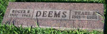 DEEMS, PEARL I. - Stark County, Ohio | PEARL I. DEEMS - Ohio Gravestone Photos