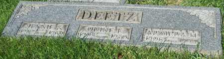 DEETZ, QUINE E. - Stark County, Ohio | QUINE E. DEETZ - Ohio Gravestone Photos