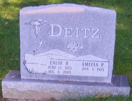 DEITZ, ENLOE H. - Stark County, Ohio | ENLOE H. DEITZ - Ohio Gravestone Photos