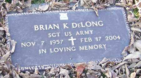 DELONG, BRIAN K.  (MIL) - Stark County, Ohio | BRIAN K.  (MIL) DELONG - Ohio Gravestone Photos
