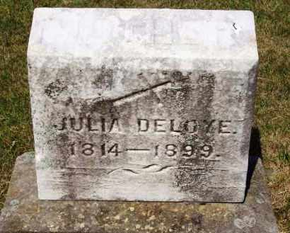 DELOYE, JULIA - Stark County, Ohio | JULIA DELOYE - Ohio Gravestone Photos