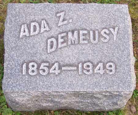 DEMEUSY, ADA Z. - Stark County, Ohio | ADA Z. DEMEUSY - Ohio Gravestone Photos