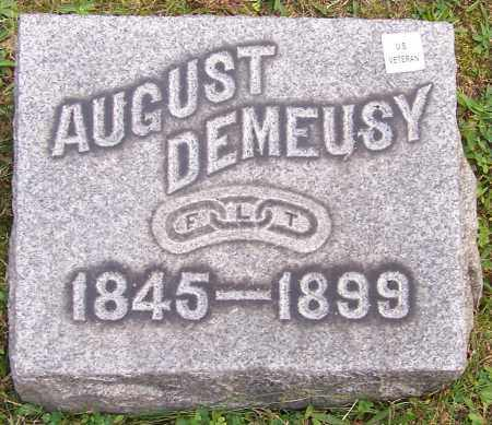 DEMEUSY, AUGUST - Stark County, Ohio | AUGUST DEMEUSY - Ohio Gravestone Photos