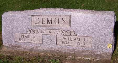 DEMOS, WILLIAM J. - Stark County, Ohio | WILLIAM J. DEMOS - Ohio Gravestone Photos