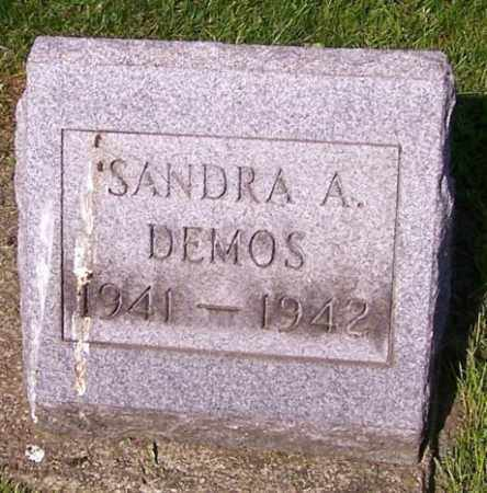 DEMOS, SANDRA A. - Stark County, Ohio | SANDRA A. DEMOS - Ohio Gravestone Photos
