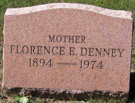 DENNEY, FLORENCE E. - Stark County, Ohio | FLORENCE E. DENNEY - Ohio Gravestone Photos