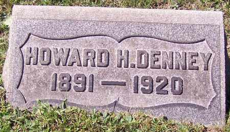 DENNEY, HOWARD H. - Stark County, Ohio | HOWARD H. DENNEY - Ohio Gravestone Photos