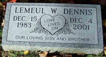 DENNIS, LEMEUL W. - Stark County, Ohio | LEMEUL W. DENNIS - Ohio Gravestone Photos