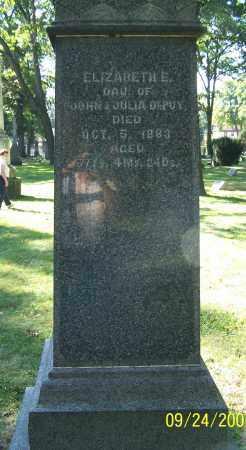 DEPEW, ELIZABETH E. - Stark County, Ohio | ELIZABETH E. DEPEW - Ohio Gravestone Photos