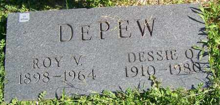 DEPEW, ROY V. - Stark County, Ohio | ROY V. DEPEW - Ohio Gravestone Photos