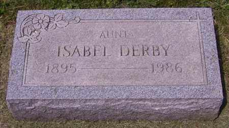 DERBY, ISABEL - Stark County, Ohio | ISABEL DERBY - Ohio Gravestone Photos