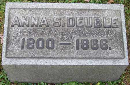 DEUBLE, ANNA S. - Stark County, Ohio | ANNA S. DEUBLE - Ohio Gravestone Photos