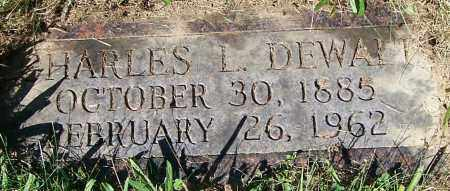 DEWALT, CHARLES L. - Stark County, Ohio | CHARLES L. DEWALT - Ohio Gravestone Photos