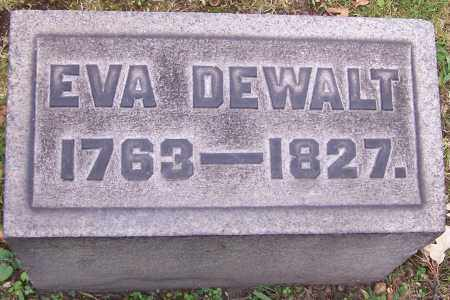 DEWALT, EVA - Stark County, Ohio | EVA DEWALT - Ohio Gravestone Photos