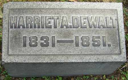 DEWALT, HARRIET A. - Stark County, Ohio | HARRIET A. DEWALT - Ohio Gravestone Photos