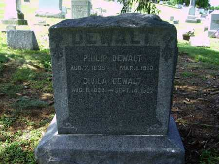 DEWALT, CIVILA - Stark County, Ohio | CIVILA DEWALT - Ohio Gravestone Photos