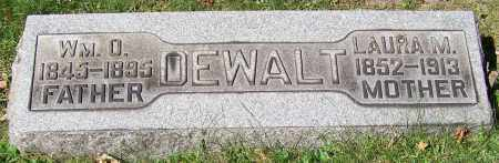 DEWALT, WM.O. - Stark County, Ohio | WM.O. DEWALT - Ohio Gravestone Photos
