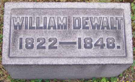 DEWALT, WILLIAM - Stark County, Ohio | WILLIAM DEWALT - Ohio Gravestone Photos