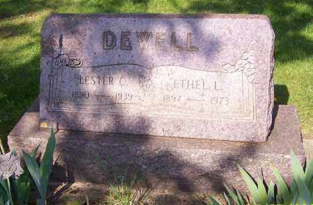 DEWELL, ETHEL L. - Stark County, Ohio | ETHEL L. DEWELL - Ohio Gravestone Photos