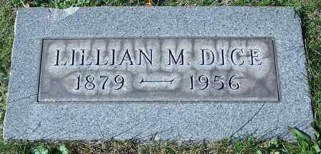 DICE, LILLIAN M. - Stark County, Ohio | LILLIAN M. DICE - Ohio Gravestone Photos