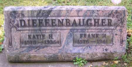DIEFFENBAUGHER, KATIE H. - Stark County, Ohio | KATIE H. DIEFFENBAUGHER - Ohio Gravestone Photos