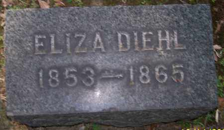 DIEHL, ELIZA - Stark County, Ohio | ELIZA DIEHL - Ohio Gravestone Photos