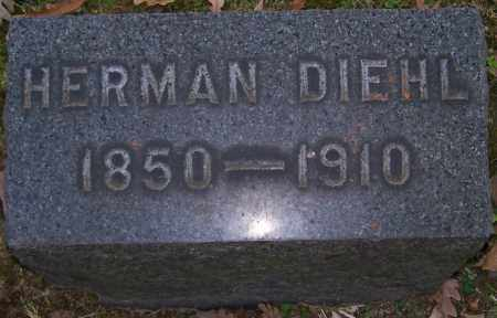 DIEHL, HERMAN - Stark County, Ohio | HERMAN DIEHL - Ohio Gravestone Photos