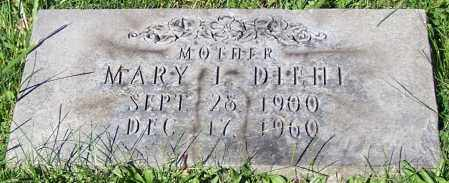 DIEHL, MARY L. - Stark County, Ohio | MARY L. DIEHL - Ohio Gravestone Photos