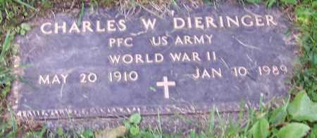 DIERINGER, CHARLES W. - Stark County, Ohio | CHARLES W. DIERINGER - Ohio Gravestone Photos