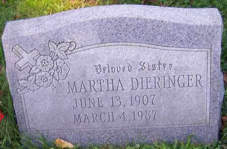 DIERINGER, MARTHA - Stark County, Ohio | MARTHA DIERINGER - Ohio Gravestone Photos
