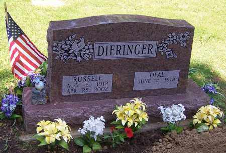 DIERINGER, RUSSELL - Stark County, Ohio | RUSSELL DIERINGER - Ohio Gravestone Photos