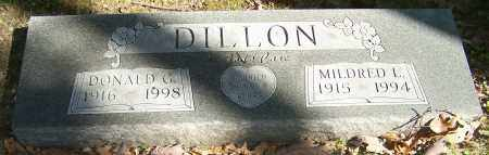DILLON, DONALD G. - Stark County, Ohio | DONALD G. DILLON - Ohio Gravestone Photos