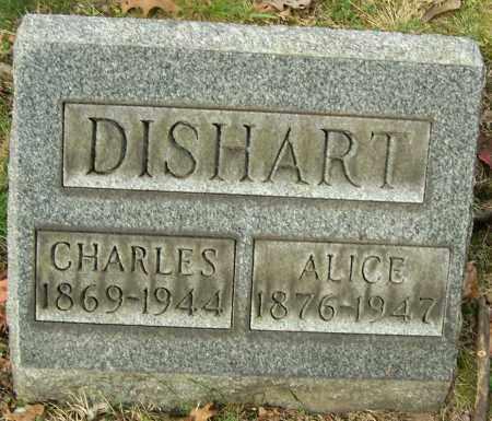 DISHART, ALICE - Stark County, Ohio | ALICE DISHART - Ohio Gravestone Photos