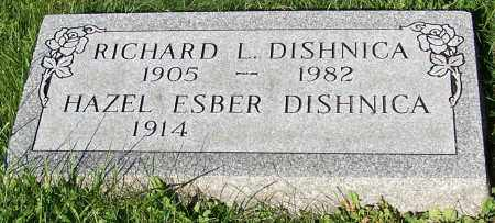 DISHNICA, HAZEL ESBER - Stark County, Ohio | HAZEL ESBER DISHNICA - Ohio Gravestone Photos