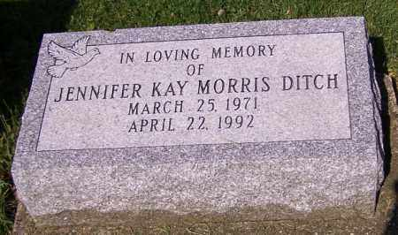 DITCH, JENNIFER KAY MORRIS - Stark County, Ohio | JENNIFER KAY MORRIS DITCH - Ohio Gravestone Photos