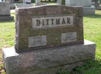 DITTMAR, HENRY - Stark County, Ohio | HENRY DITTMAR - Ohio Gravestone Photos