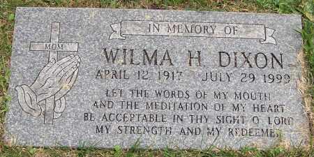 DIXON, WILMA H. - Stark County, Ohio | WILMA H. DIXON - Ohio Gravestone Photos