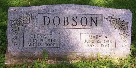 DOBSON, MARY A. - Stark County, Ohio | MARY A. DOBSON - Ohio Gravestone Photos
