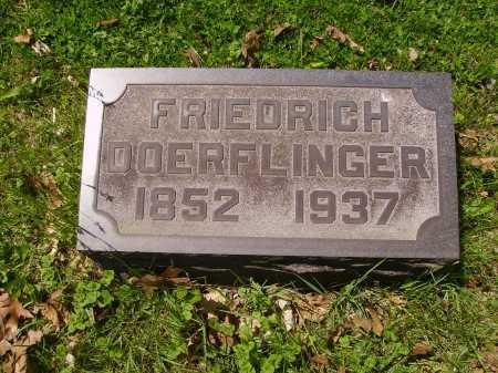 DOERFLINGER, FRIEDRICH - Stark County, Ohio | FRIEDRICH DOERFLINGER - Ohio Gravestone Photos