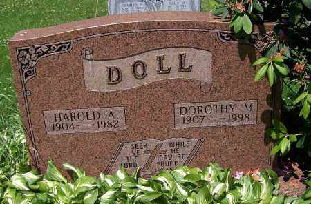 DOLL, DOROTHY M. - Stark County, Ohio | DOROTHY M. DOLL - Ohio Gravestone Photos
