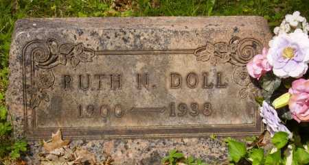 DOLL, RUTH NAOMI - Stark County, Ohio | RUTH NAOMI DOLL - Ohio Gravestone Photos