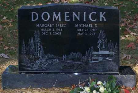 DOMENICK, MICHAEL D. - Stark County, Ohio | MICHAEL D. DOMENICK - Ohio Gravestone Photos