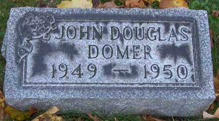 DOMER, JOHN DOUGLAS - Stark County, Ohio | JOHN DOUGLAS DOMER - Ohio Gravestone Photos